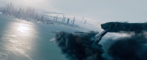 Star Trek Into Darkness trailer USS Vengeance crash